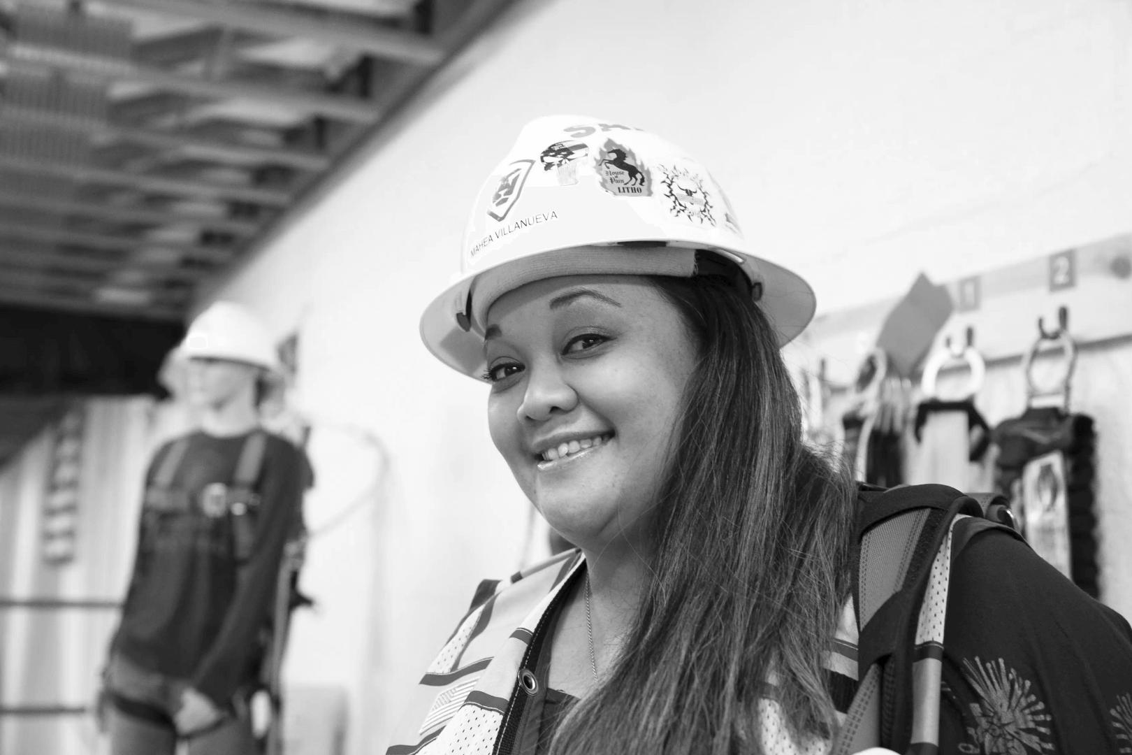 Women in Construction – Mahea Villanueva