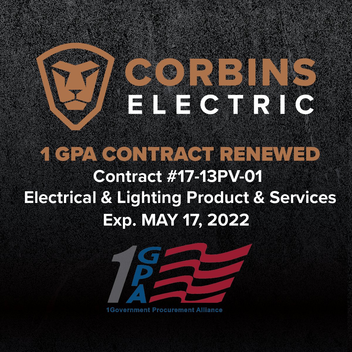 Corbins Electric 1 GPA Contract Has Been Extended